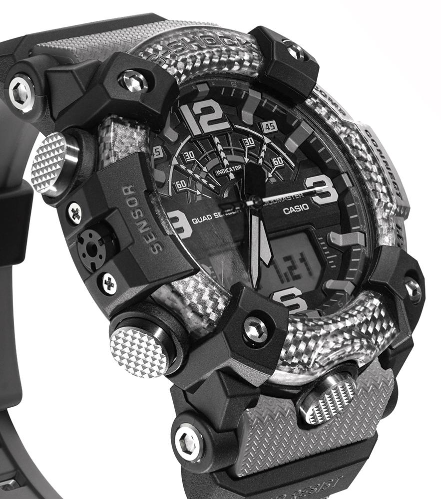 Zegarek męski Casio g-shock master of g GG-B100-8AER - duże 1