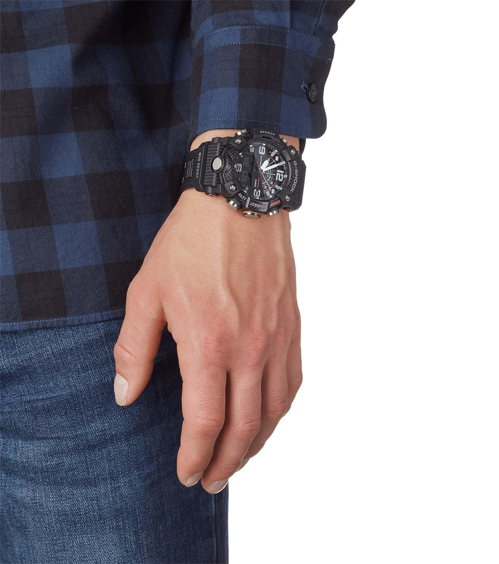 Zegarek męski Casio g-shock master of g GG-B100-1AER - duże 2