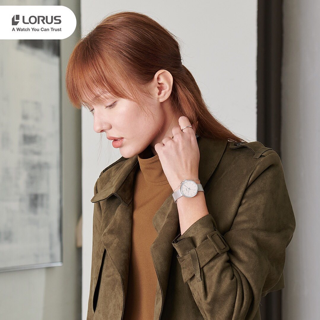 Zegarek damski Lorus klasyczne RG209QX9 - duże 6
