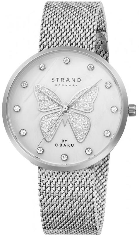 Zegarek damski Strand butterfly S700LXCWMC-DB - duże 1