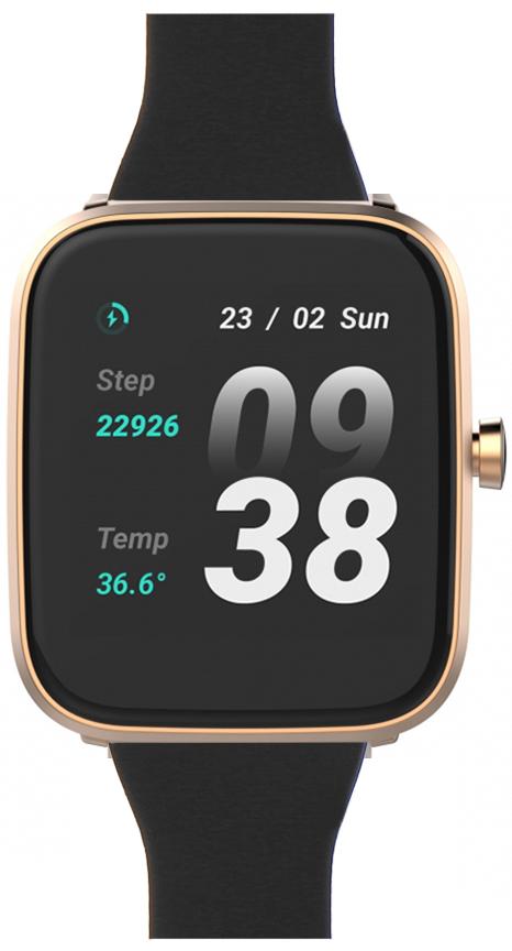 Zegarek damski Vector Smart smartwatch VCTR-31-01RG-03BK - duże 1