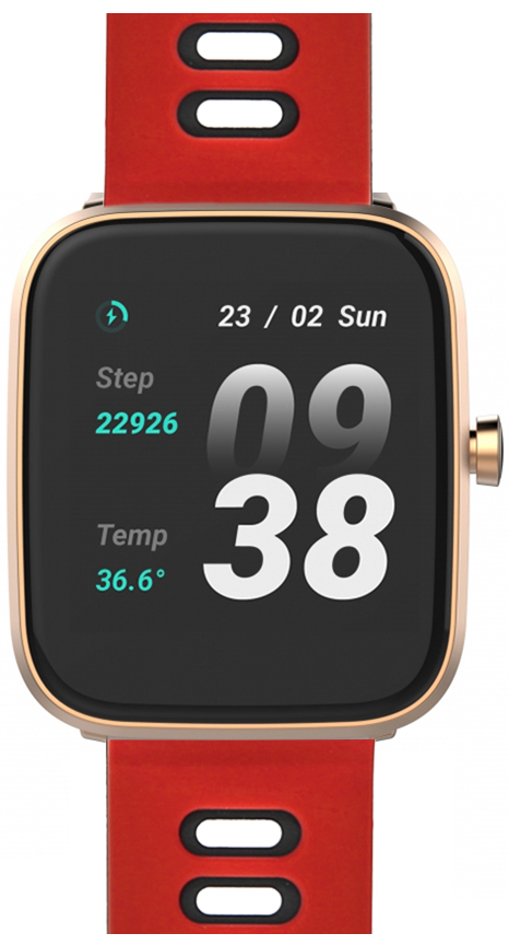 Zegarek unisex Vector Smart smartwatch VCTR-31-01RG-S4RD - duże 1