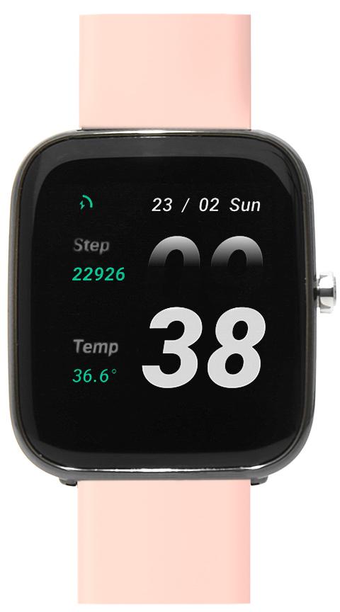 Zegarek damski Vector Smart smartwatch VCTR-33-03BK-S3BP - duże 1