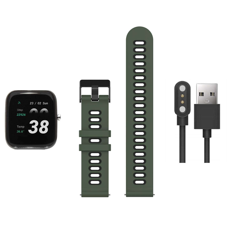 Zegarek unisex Vector Smart smartwatch VCTR-33-03BK-S4AG - duże 1