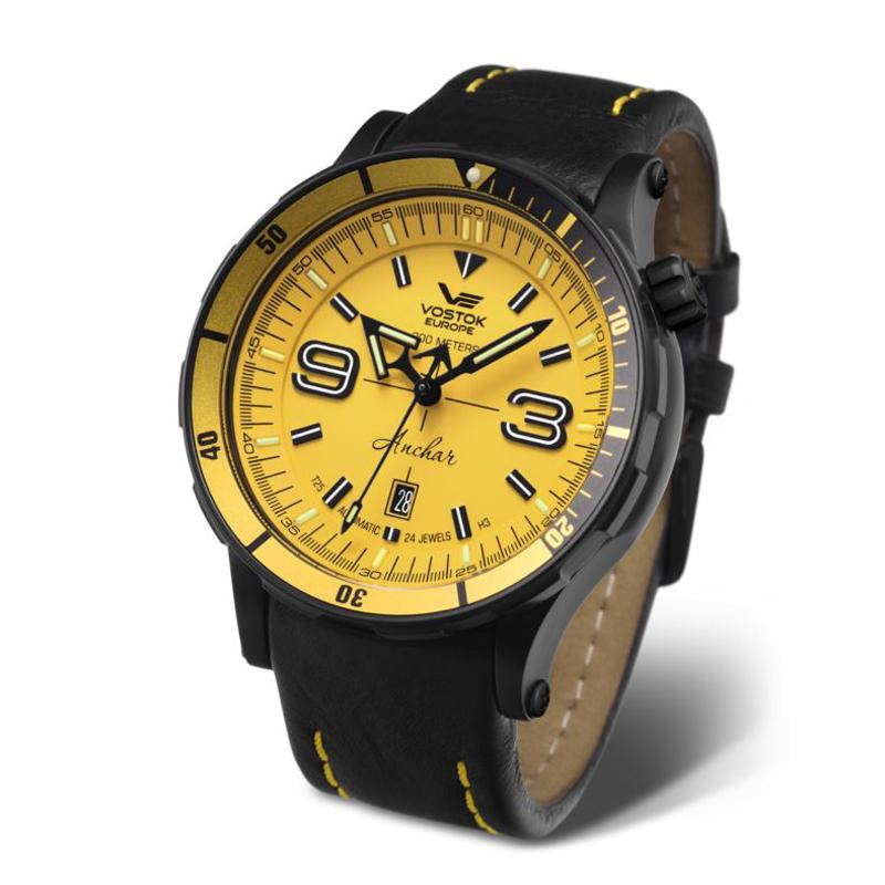 Zegarek męski Vostok Europe anchar NH35A-510C530 - duże 1