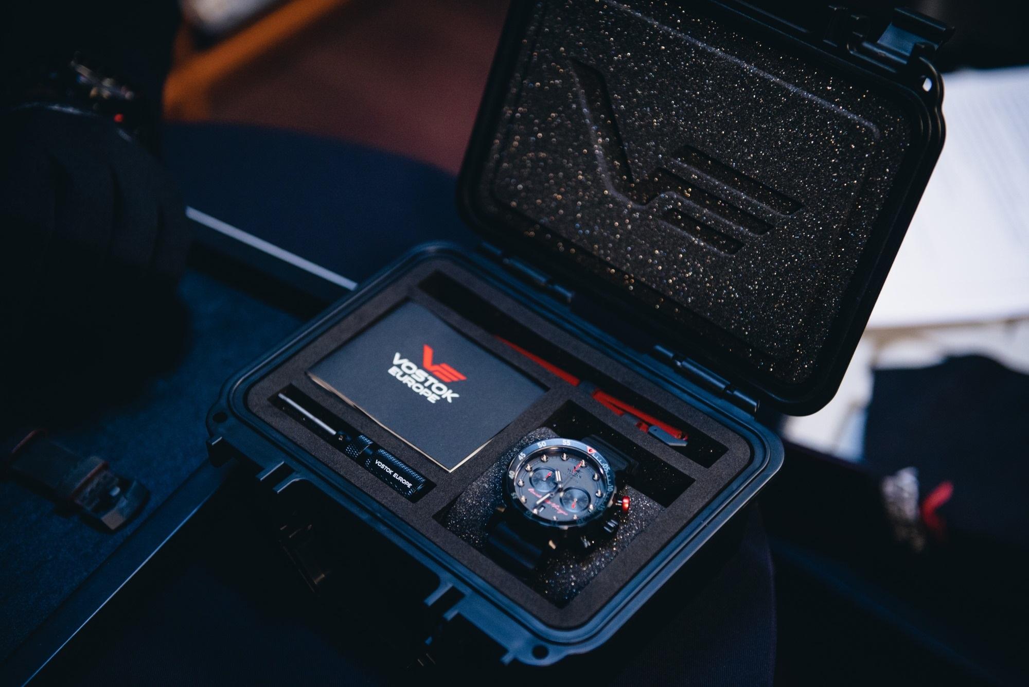 Zegarek męski Vostok Europe ssn 571 VK64-571J431 - duże 6