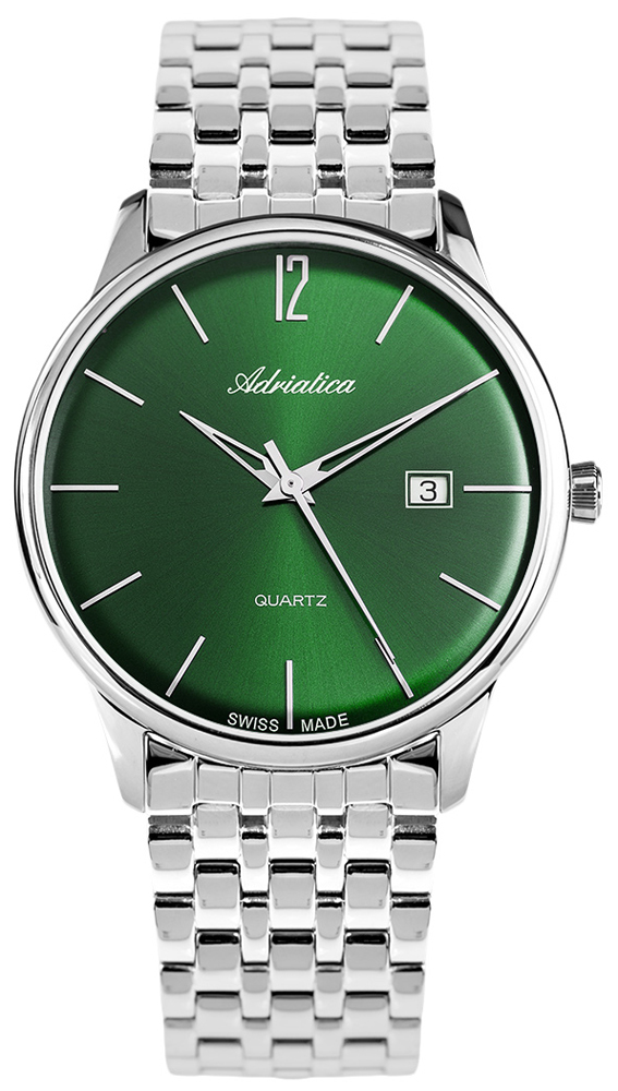 Zegarek męski Adriatica bransoleta A8254.5150Q - duże 1