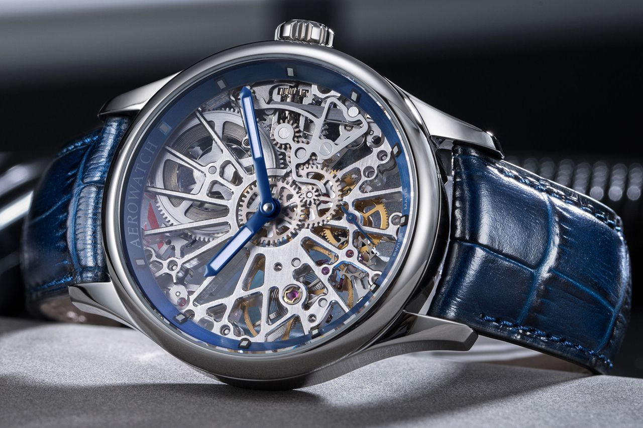 Zegarek męski Aerowatch renaissance 50981-AA19 - duże 2