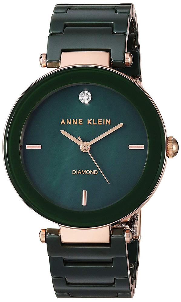 Zegarek damski Anne Klein bransoleta AK-1018RGGN - duże 1