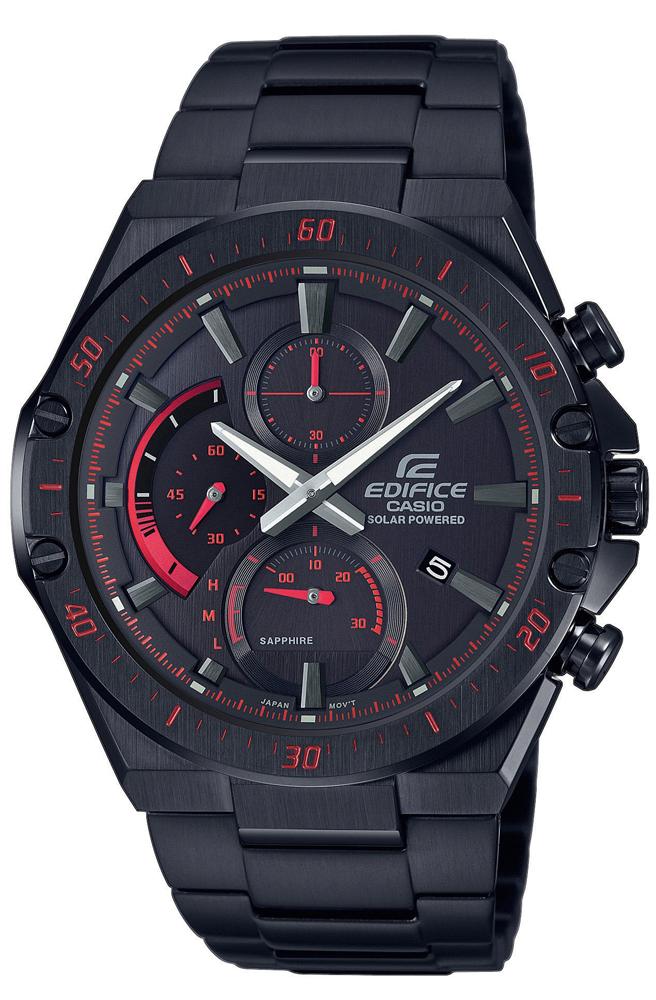 Zegarek męski Casio edifice premium EFS-S560DC-1AVUEF - duże 1