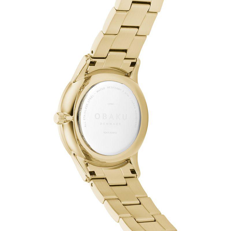 Zegarek damski Obaku Denmark slim V247LXGWSG - duże 2