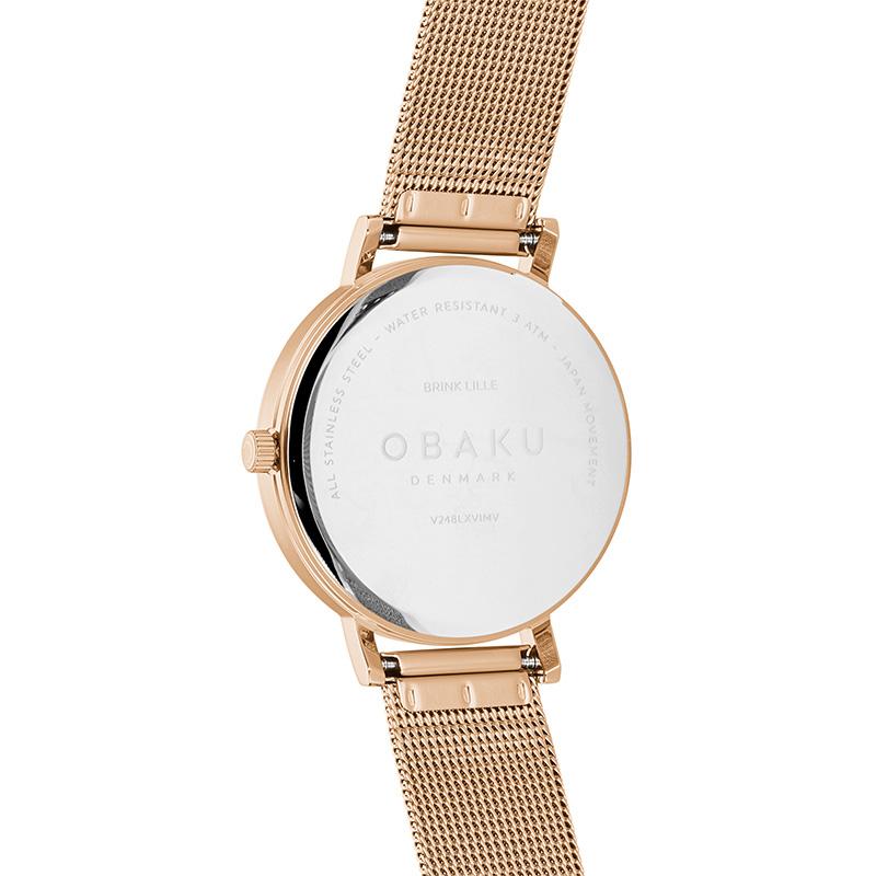 Zegarek damski Obaku Denmark slim V248LXVIMV - duże 2