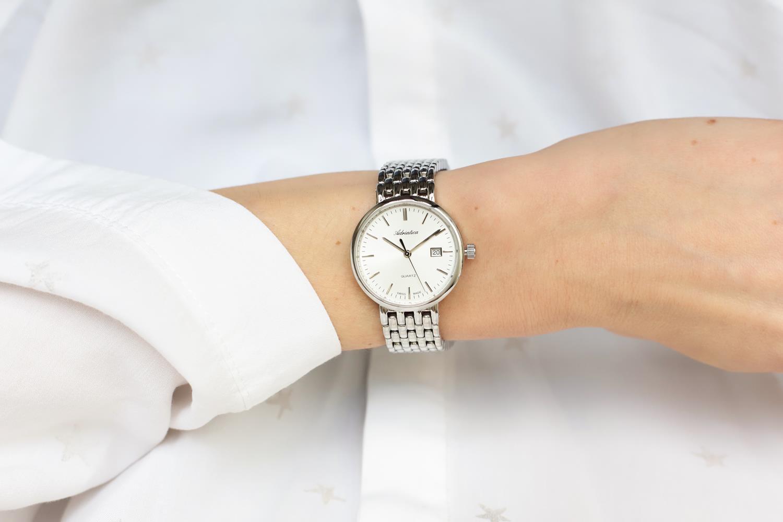 Zegarek damski Adriatica bransoleta A3170.5113Q - duże 1