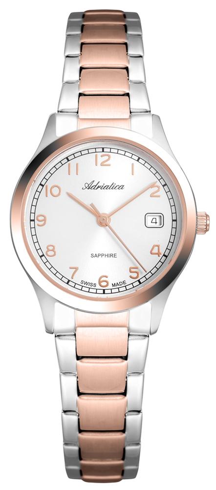 Zegarek damski Adriatica bransoleta A3192.R123Q - duże 1