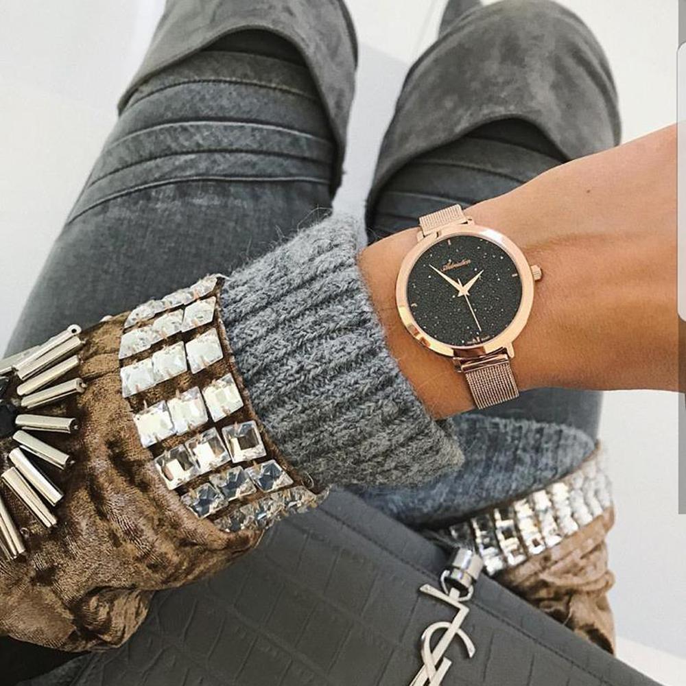 Zegarek damski Adriatica bransoleta A3787.9114Q - duże 2