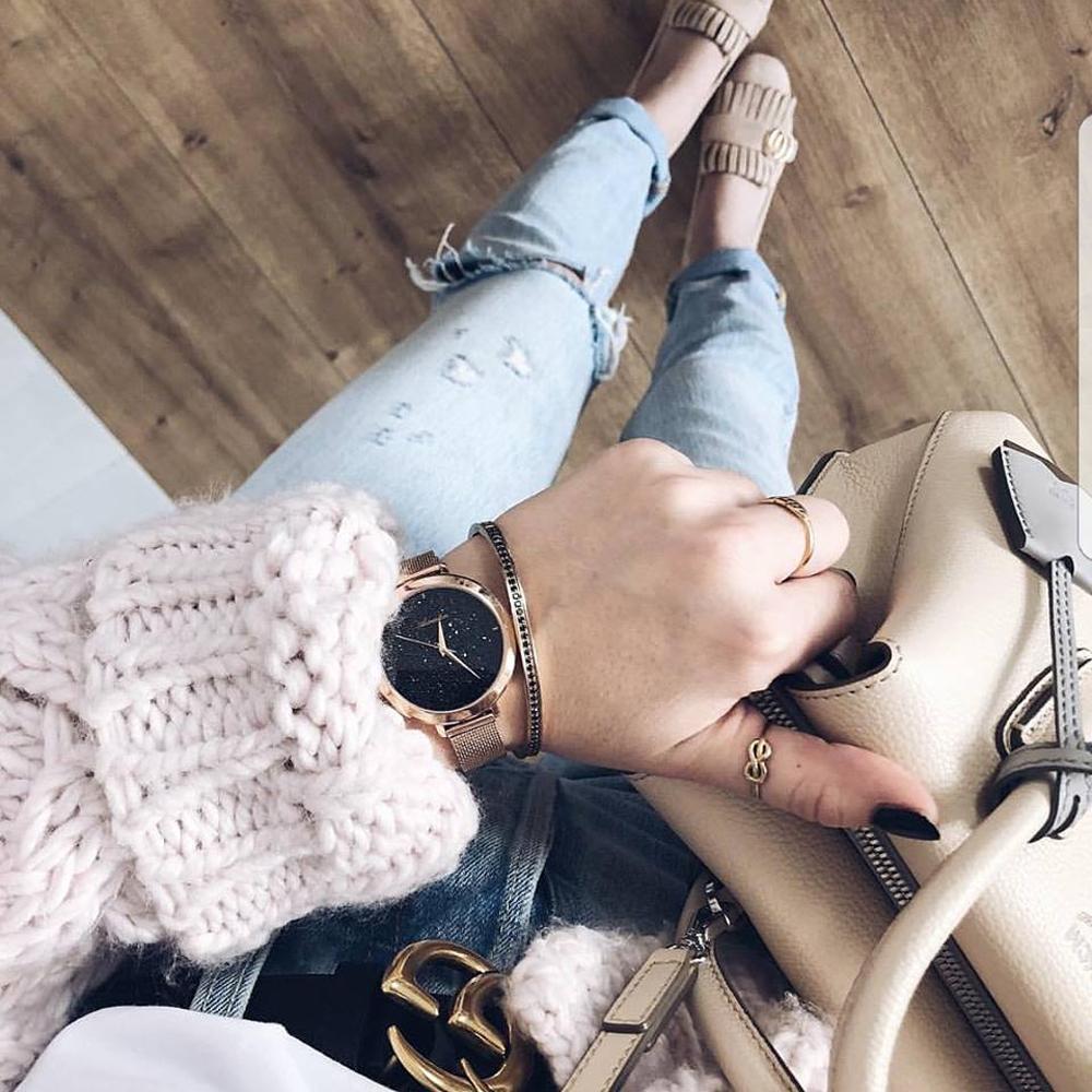 Zegarek damski Adriatica bransoleta A3787.9114Q - duże 4