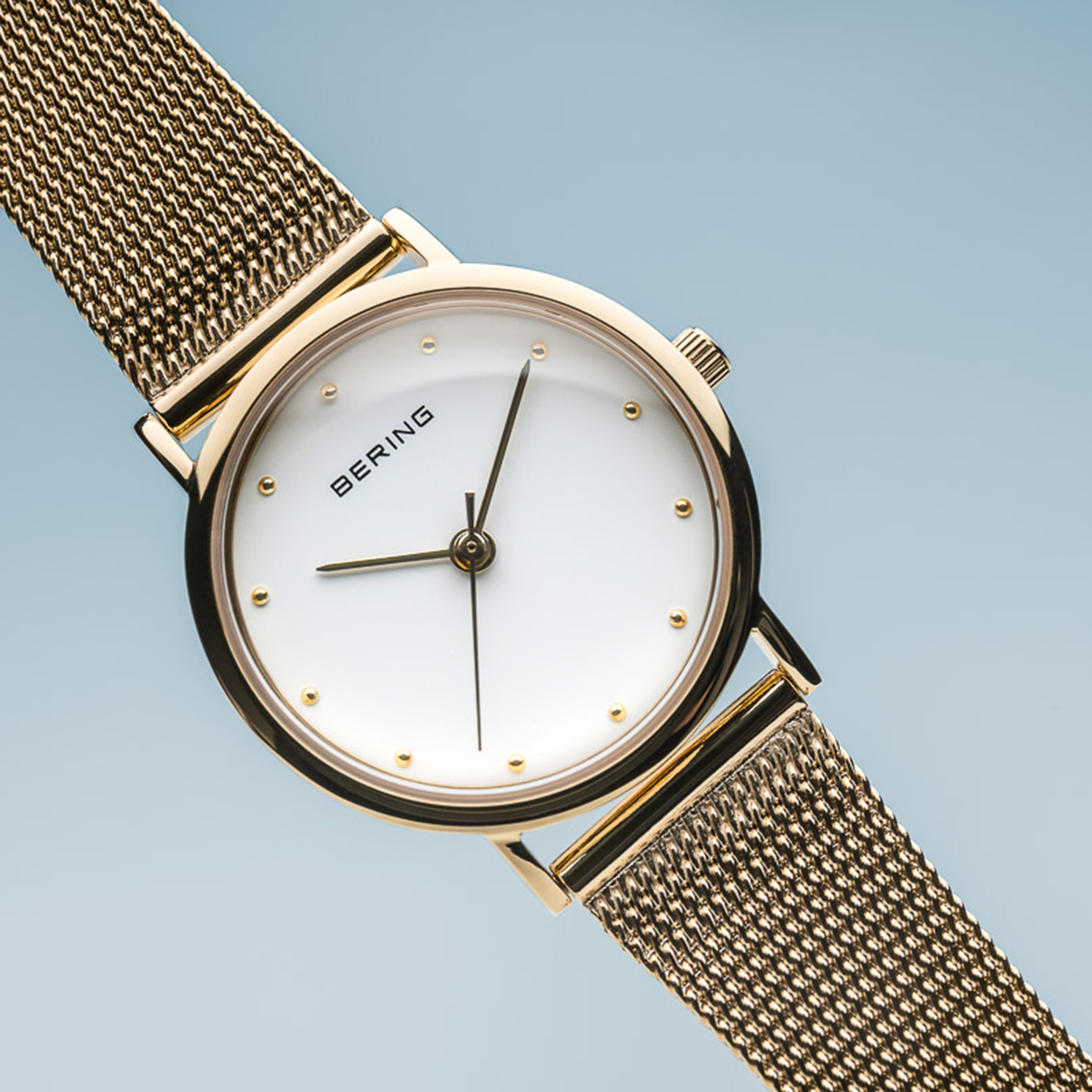 Zegarek damski Bering classic 13426-334 - duże 2