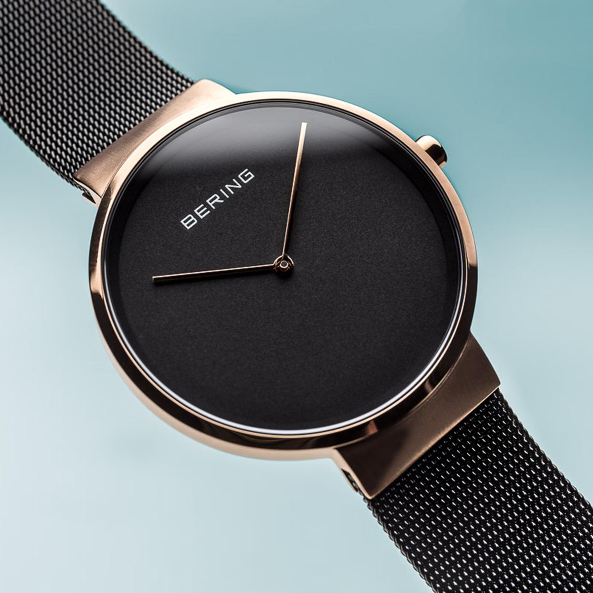 Zegarek damski Bering classic 14539-166 - duże 3