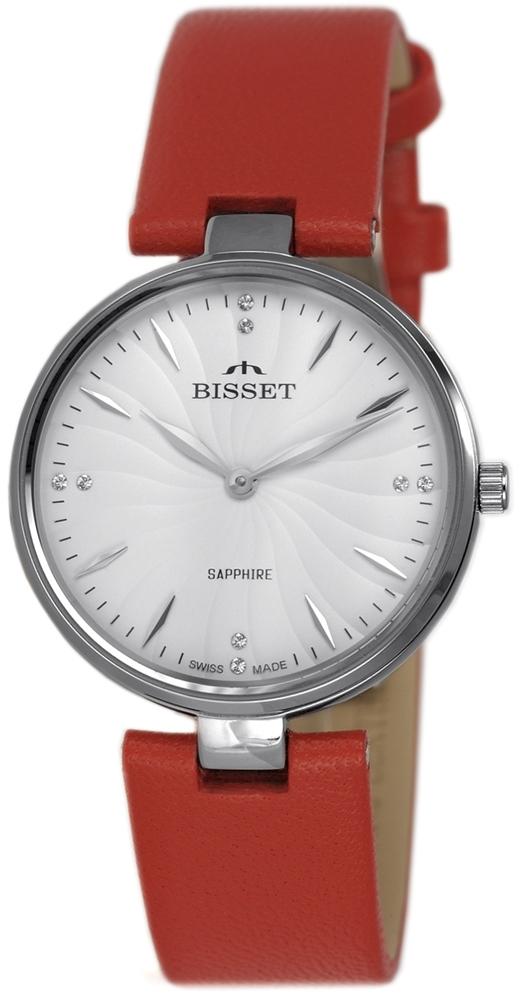Zegarek damski Bisset klasyczne BSAF21SISX03BX - duże 1