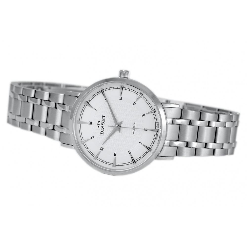 Zegarek damski Bisset klasyczne BSBE70SISX03BX - duże 1