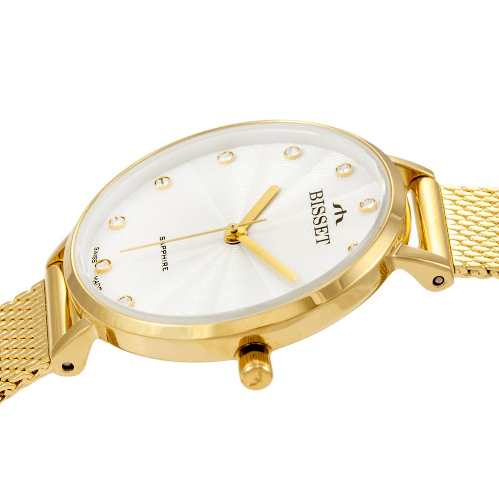 Zegarek damski Bisset klasyczne BSBF30GISX03BX - duże 1