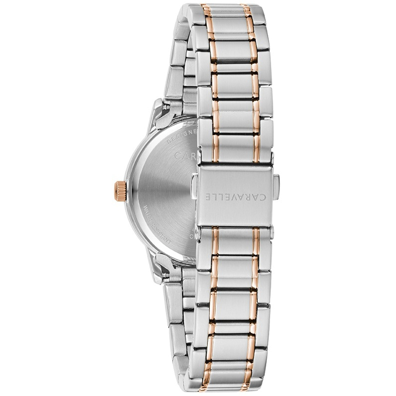 Zegarek damski Caravelle bransoleta 45P110 - duże 3