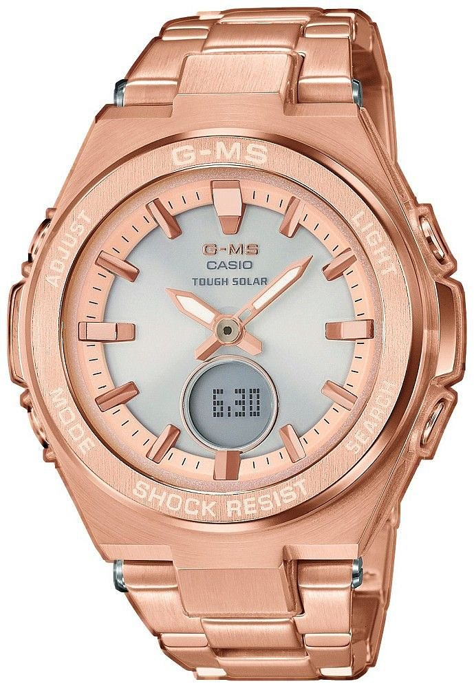 Zegarek damski Casio baby-g MSG-S200DG-4AER - duże 1
