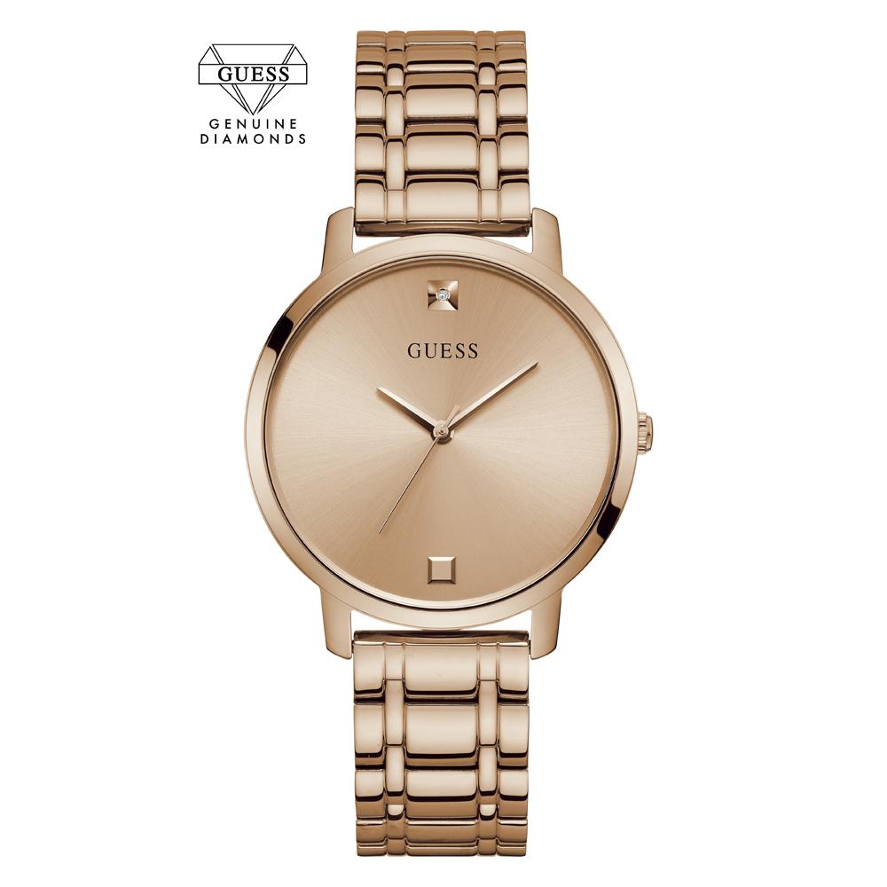 Zegarek damski Guess bransoleta W1313L3 - duże 3