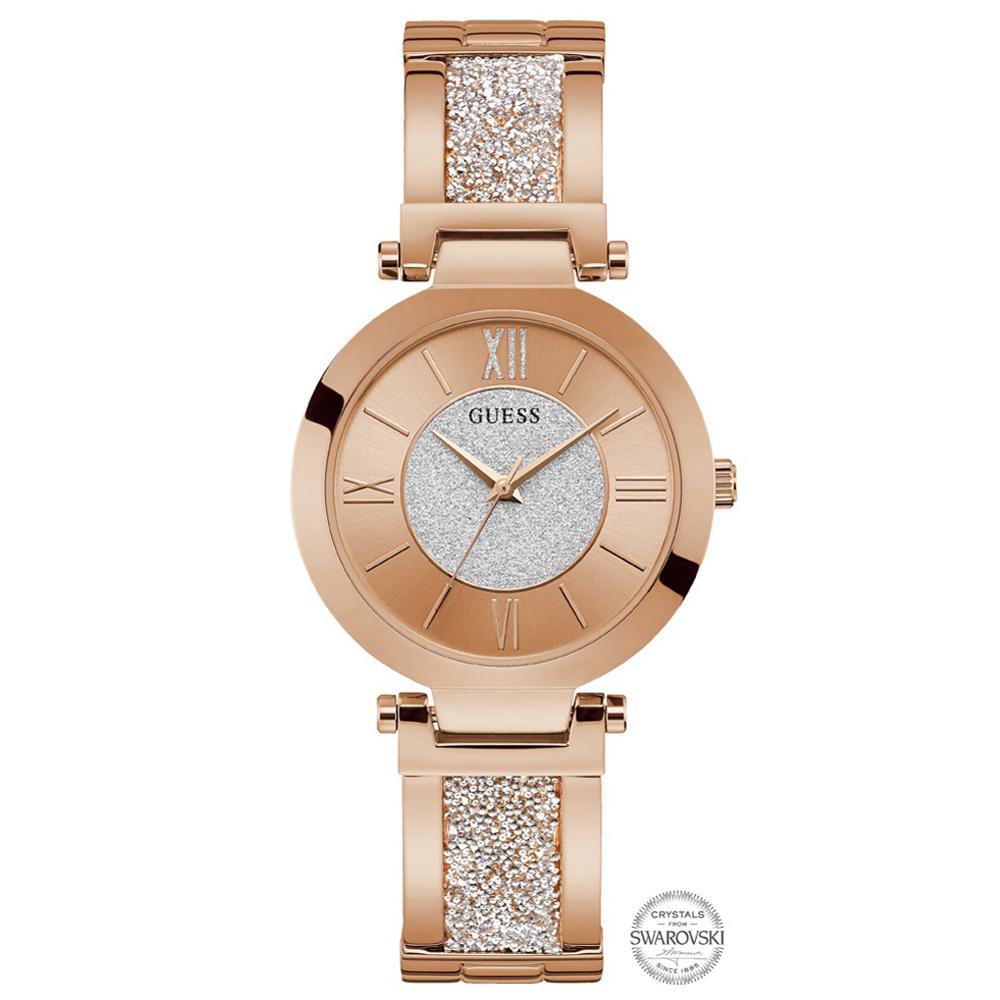 Zegarek damski Guess damskie W1288L3 - duże 1