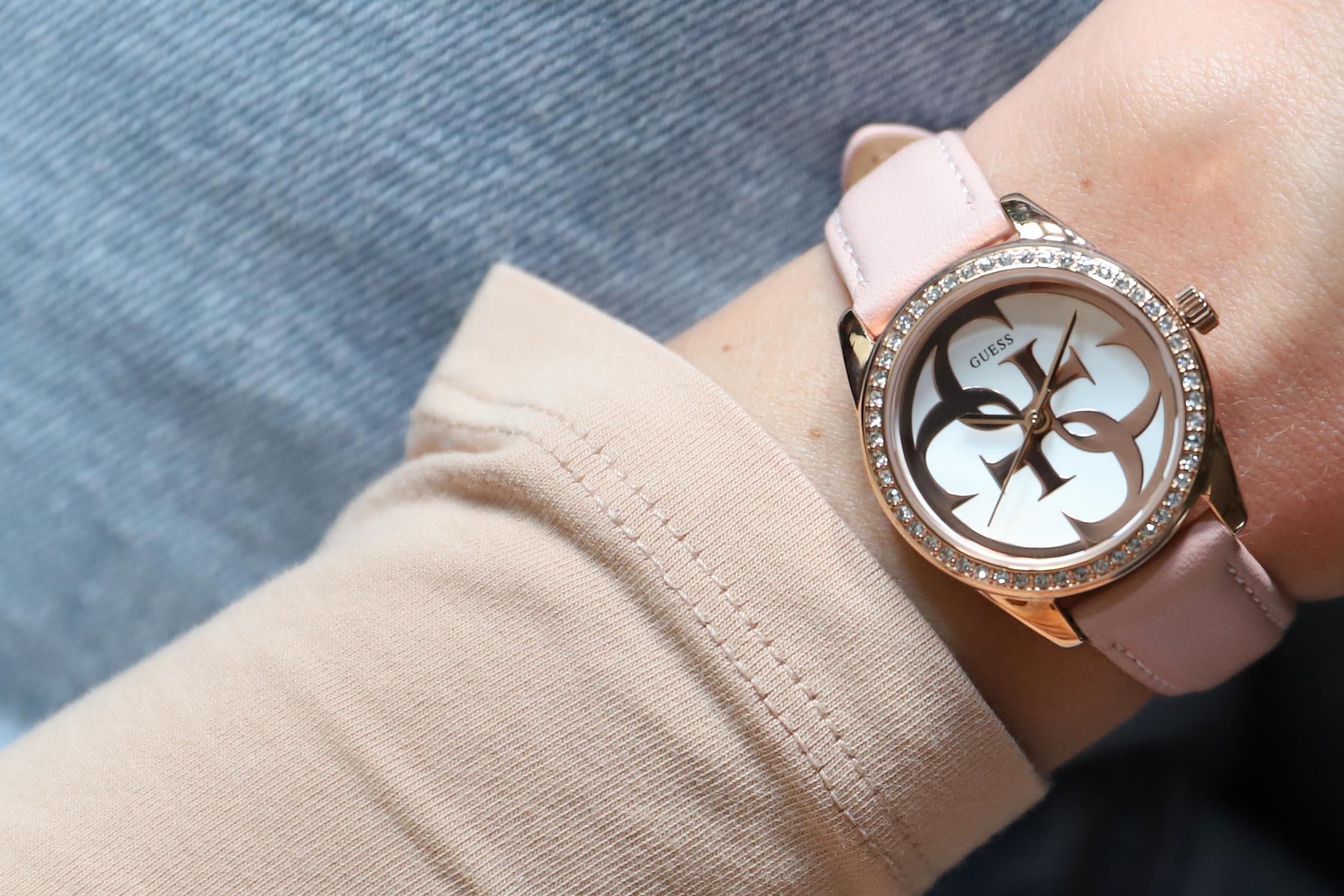 Zegarek damski Guess pasek W1212L1 - duże 2