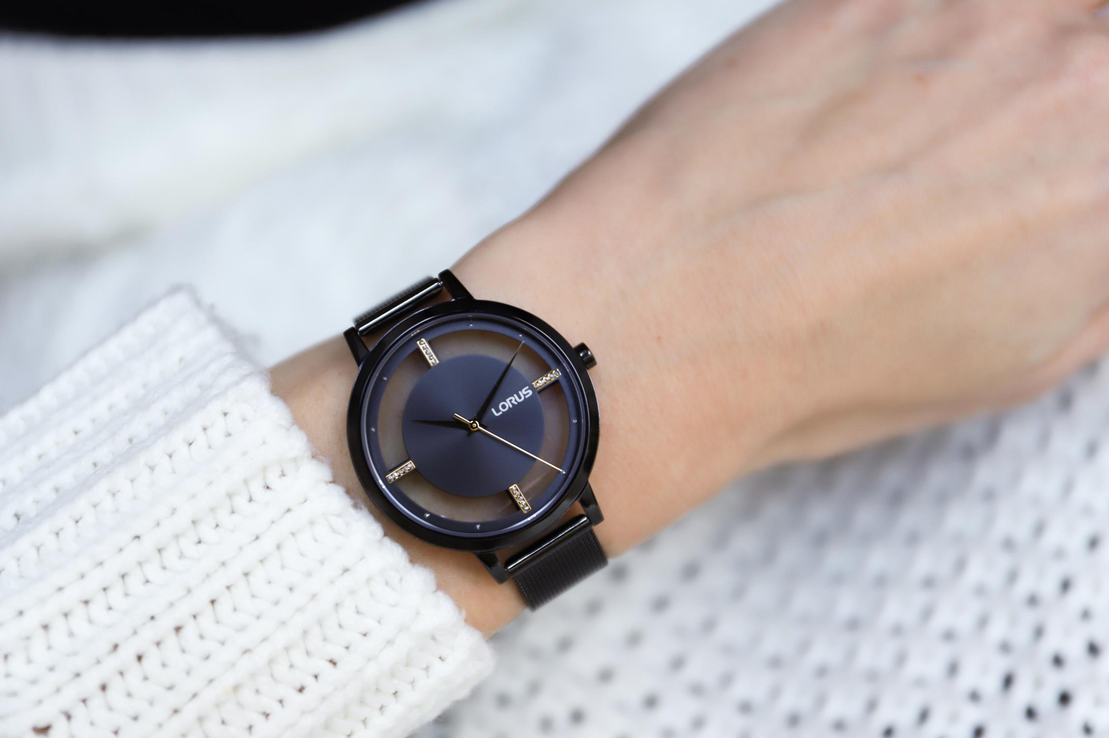 Zegarek damski Lorus klasyczne RG205QX9 - duże 1