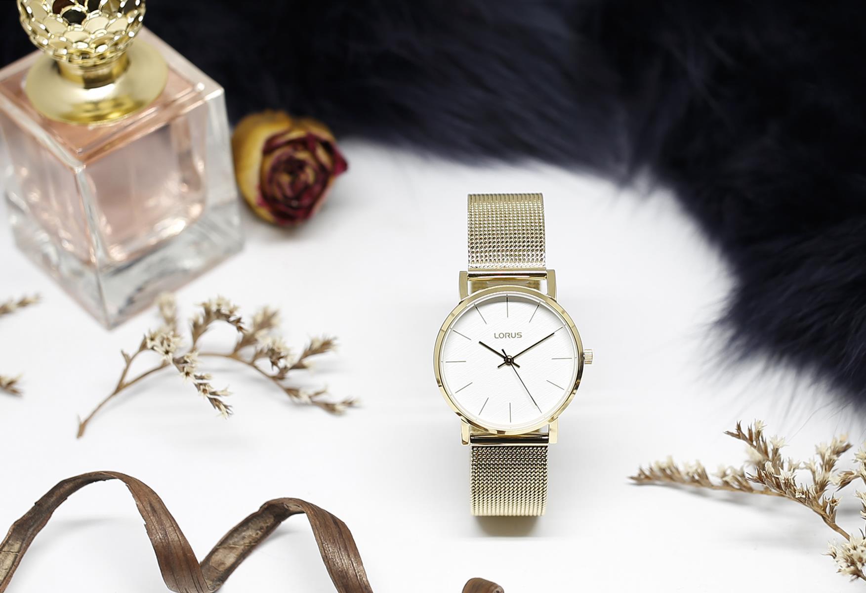 Zegarek damski Lorus klasyczne RG206QX9 - duże 1