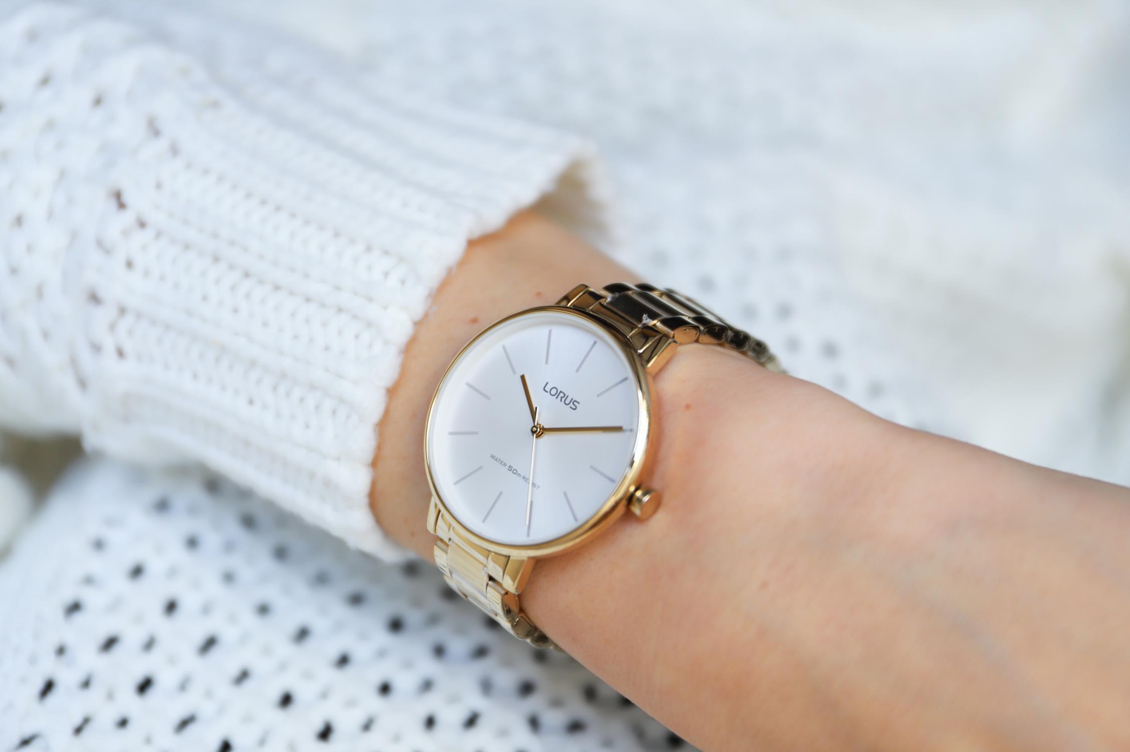 Zegarek damski Lorus klasyczne RG210NX9 - duże 3