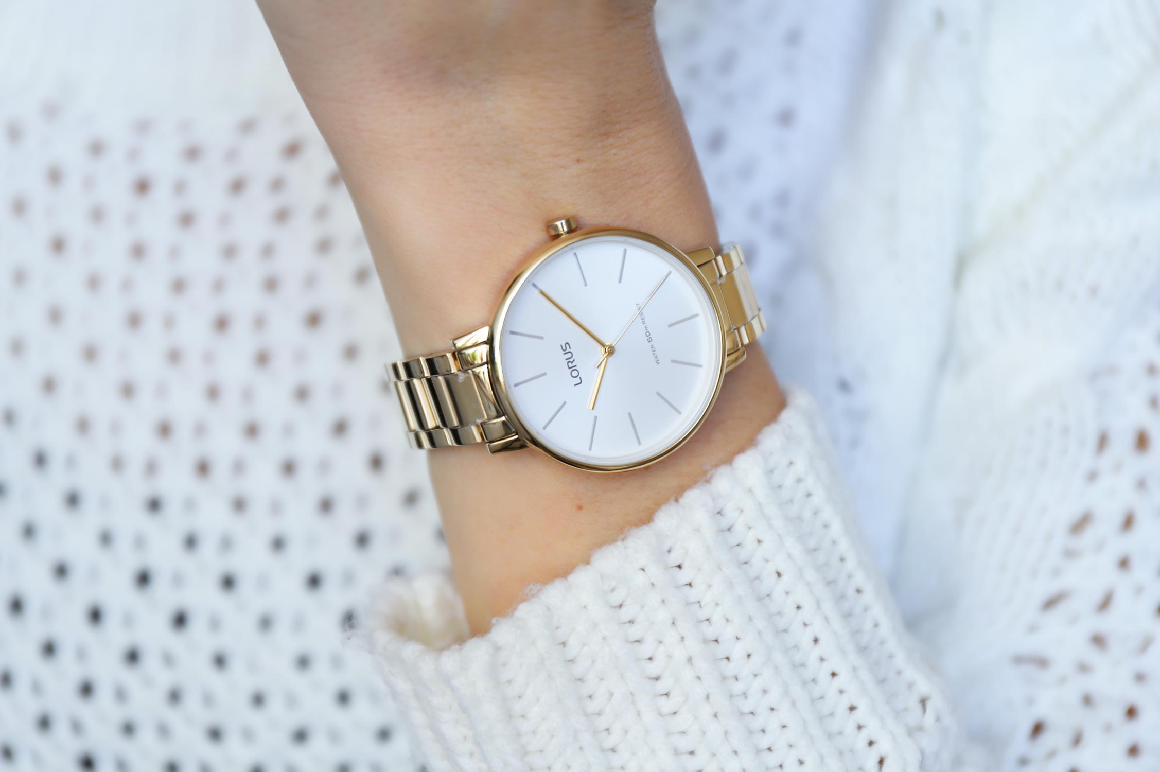 Zegarek damski Lorus klasyczne RG210NX9 - duże 4