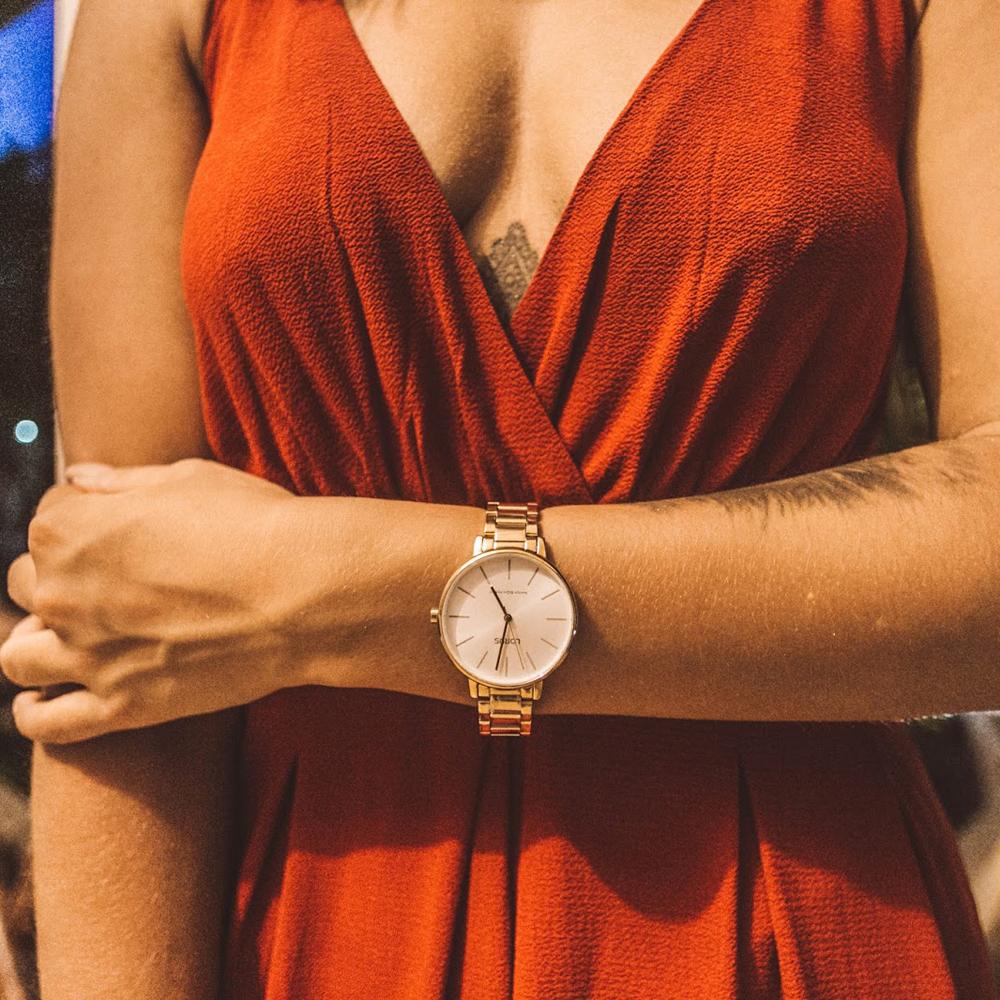 Zegarek damski Lorus klasyczne RG210NX9 - duże 1