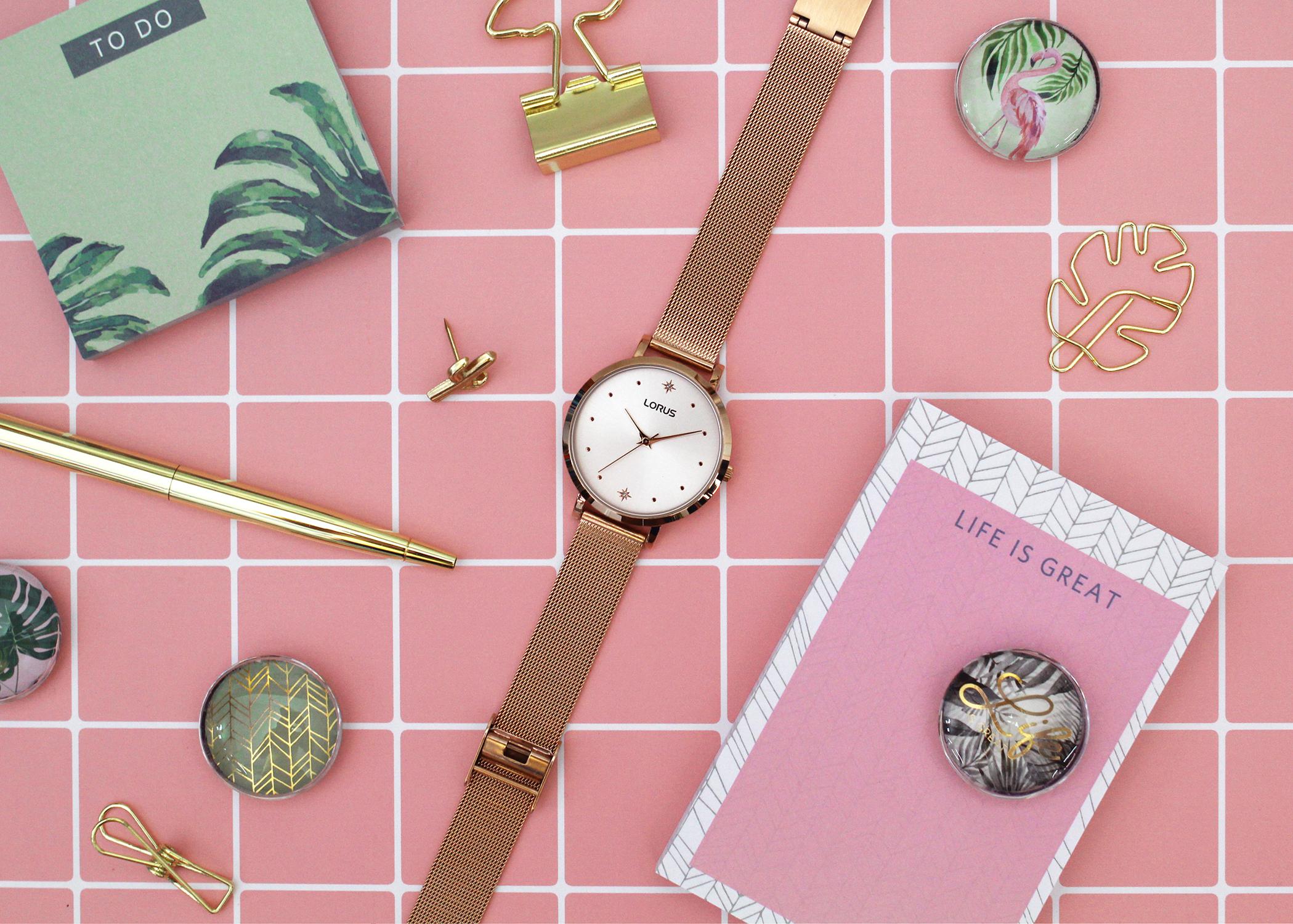 Zegarek damski Lorus klasyczne RG250PX9 - duże 1
