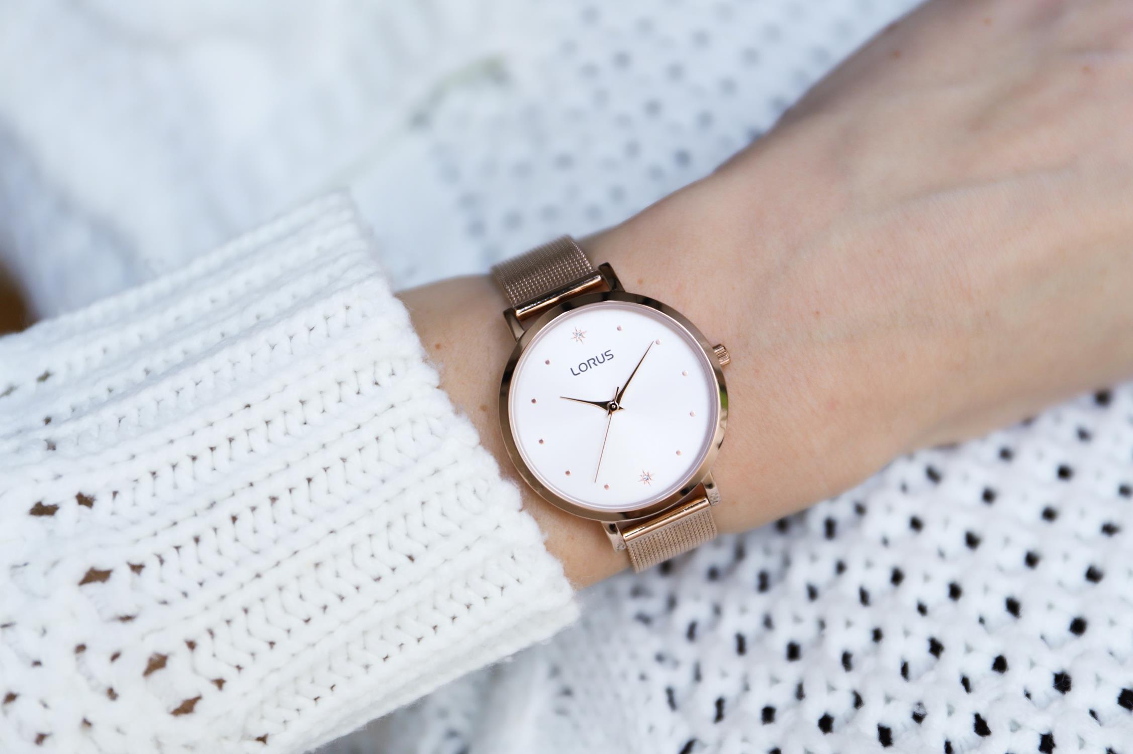 Zegarek damski Lorus klasyczne RG250PX9 - duże 3
