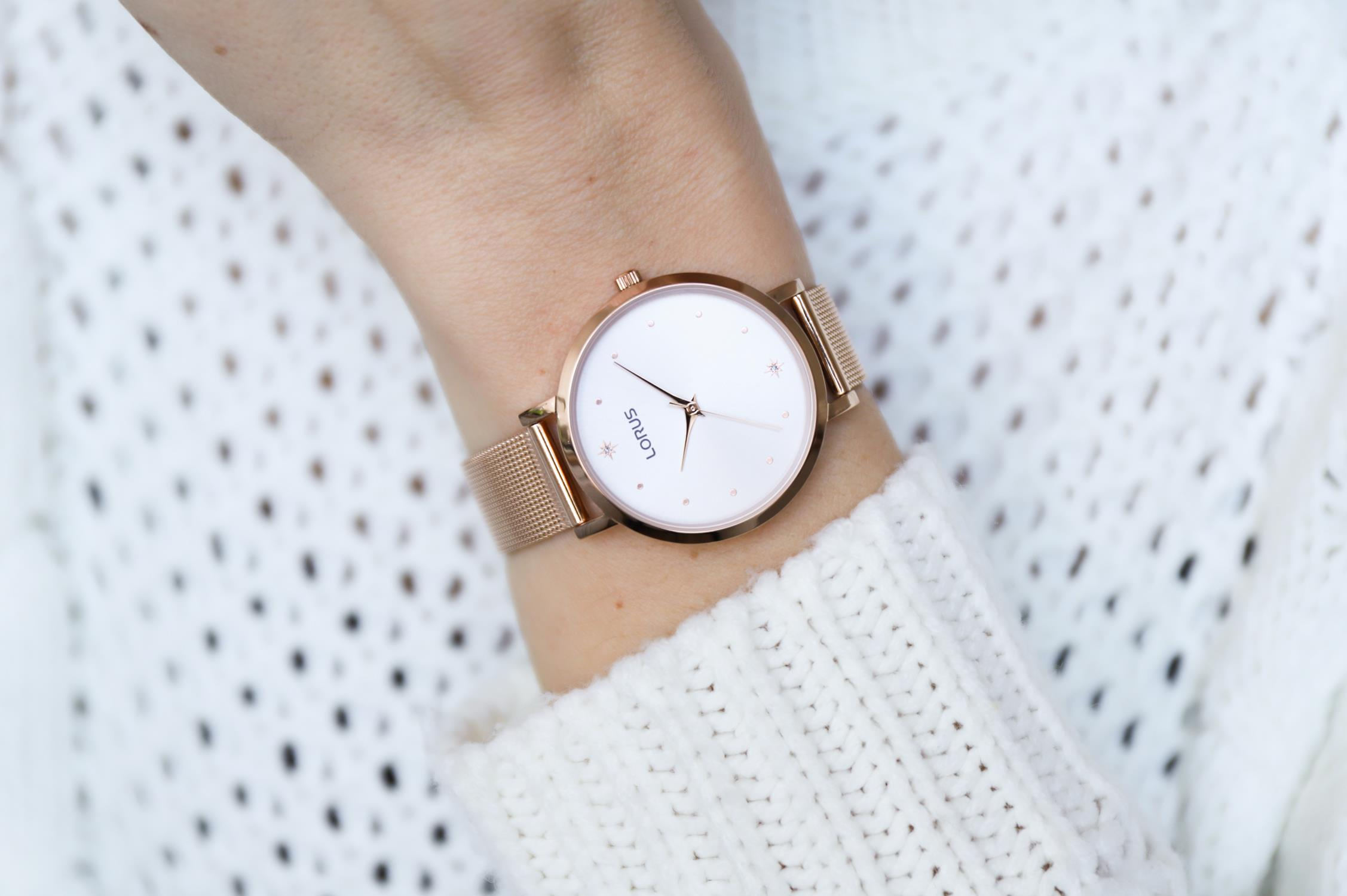 Zegarek damski Lorus klasyczne RG250PX9 - duże 2