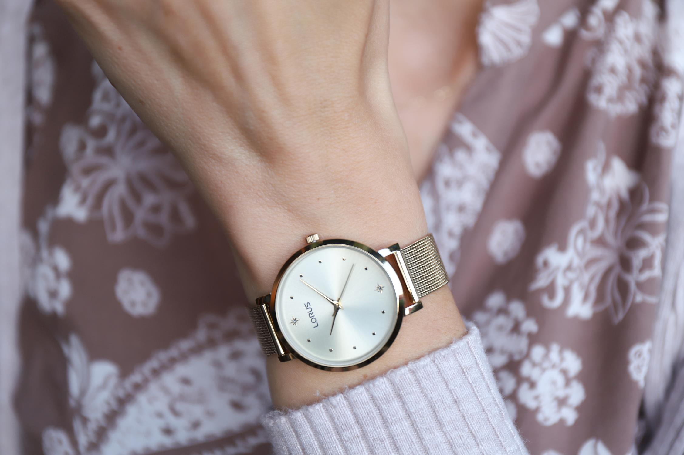Zegarek damski Lorus klasyczne RG252PX9 - duże 1