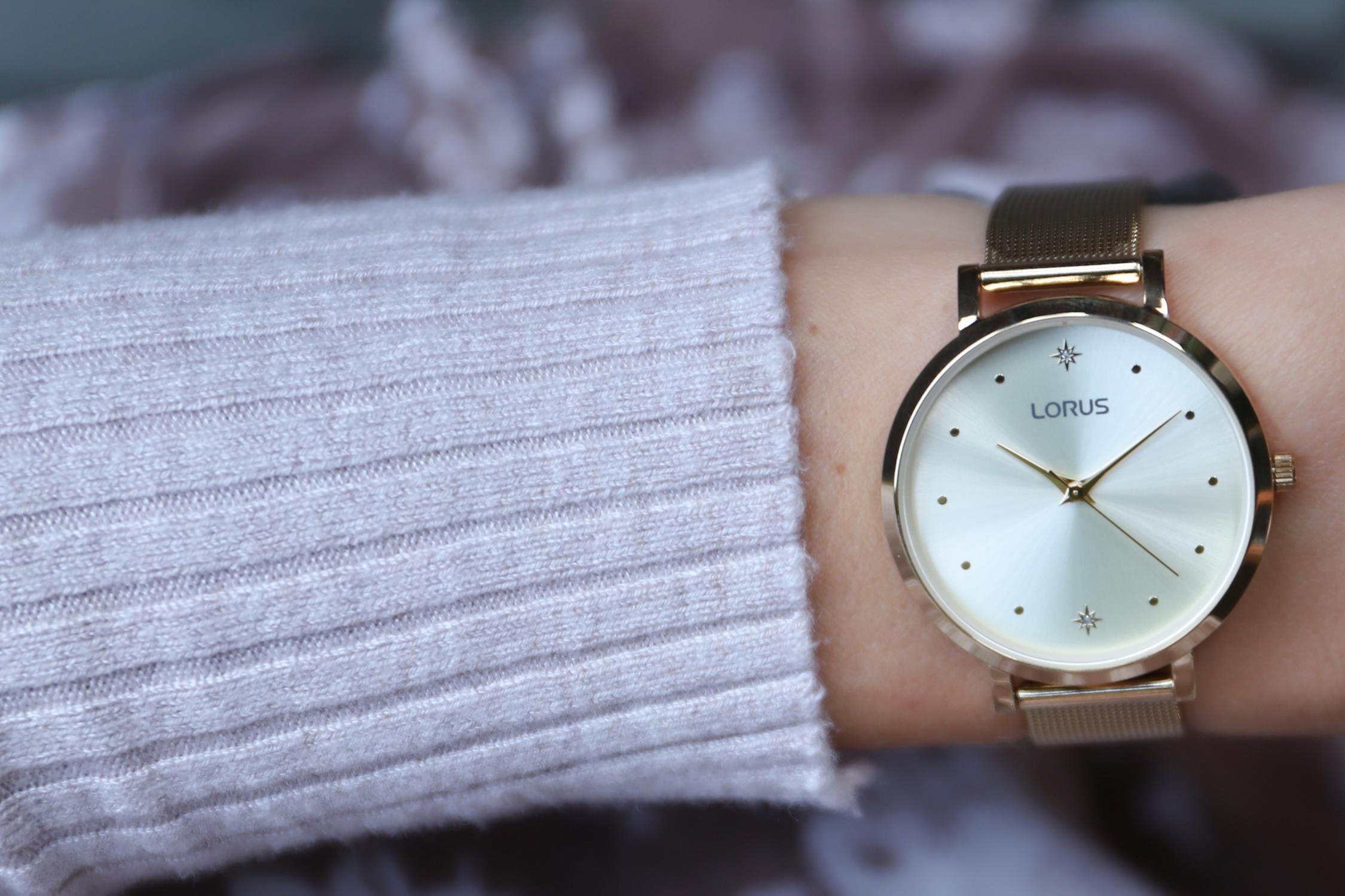 Zegarek damski Lorus klasyczne RG252PX9 - duże 2