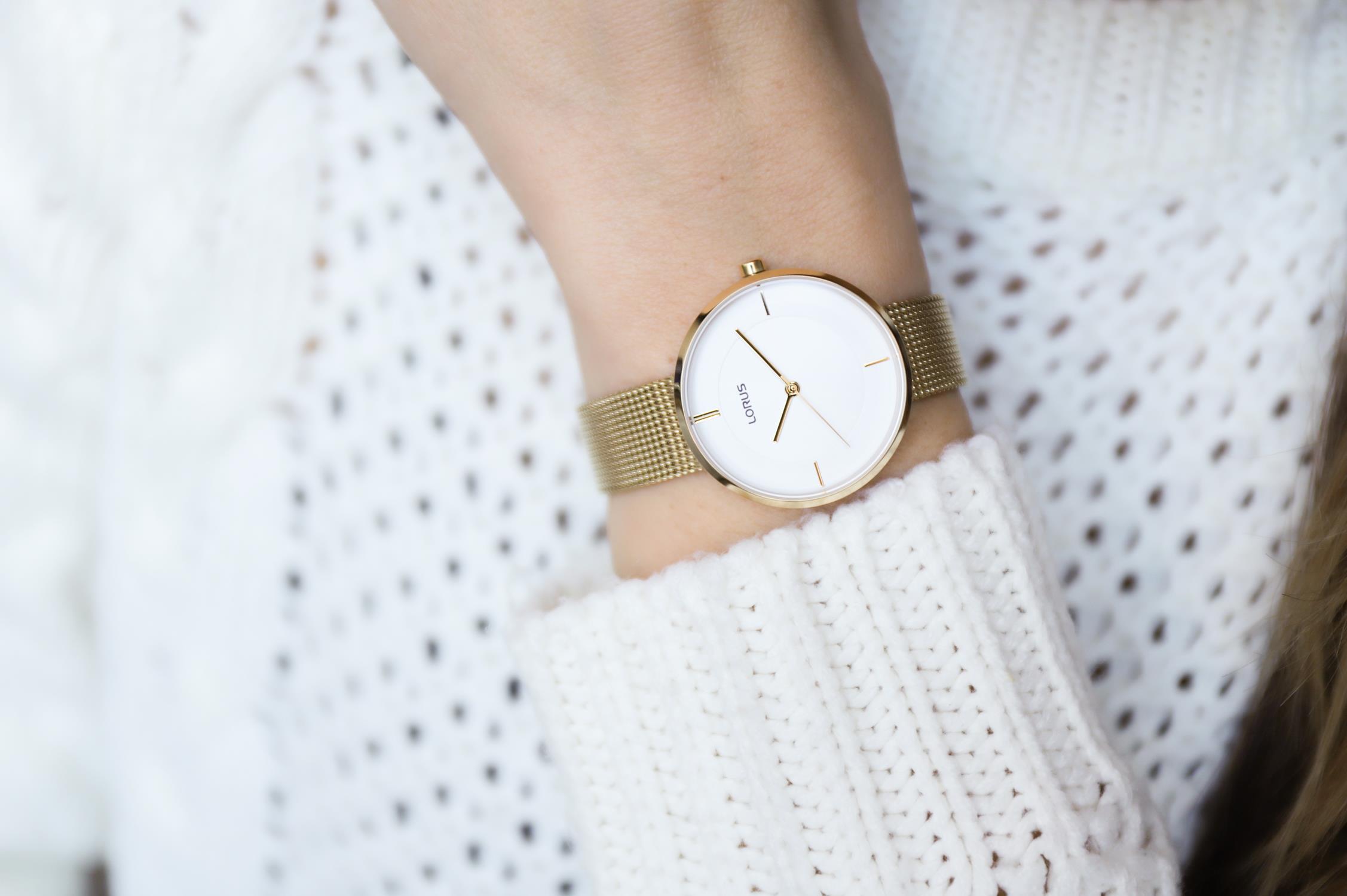 Zegarek damski Lorus klasyczne RG252QX9 - duże 3