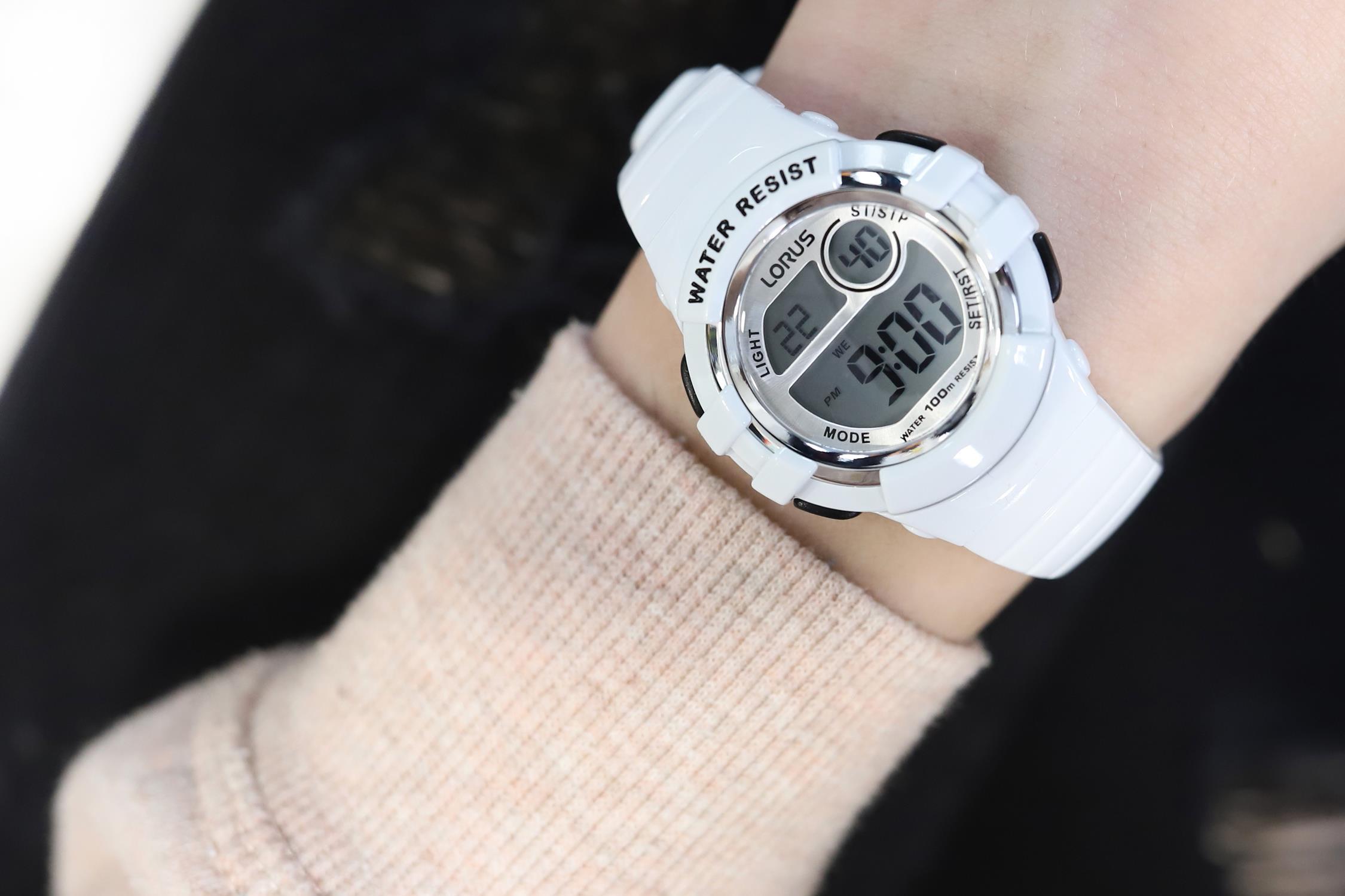 Zegarek damski Lorus sportowe R2383HX9 - duże 5