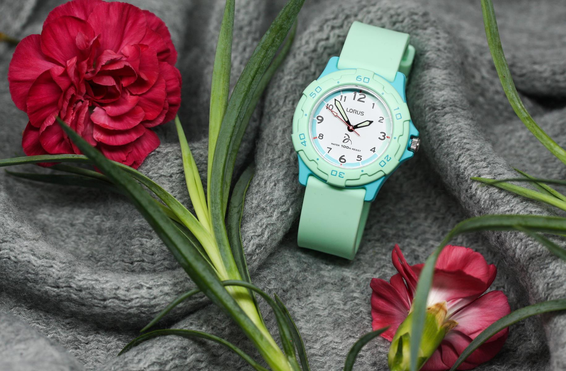 Zegarek dla dziewczynki Lorus dla dzieci RRX25GX9 - duże 1