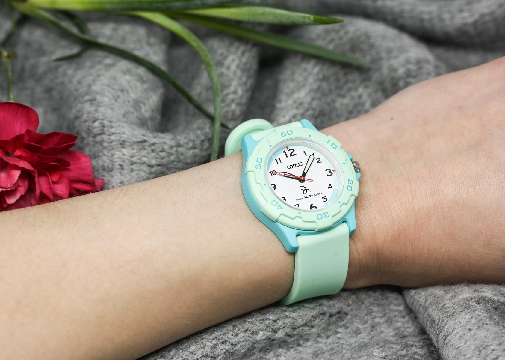 Zegarek dla dziewczynki Lorus dla dzieci RRX25GX9 - duże 2
