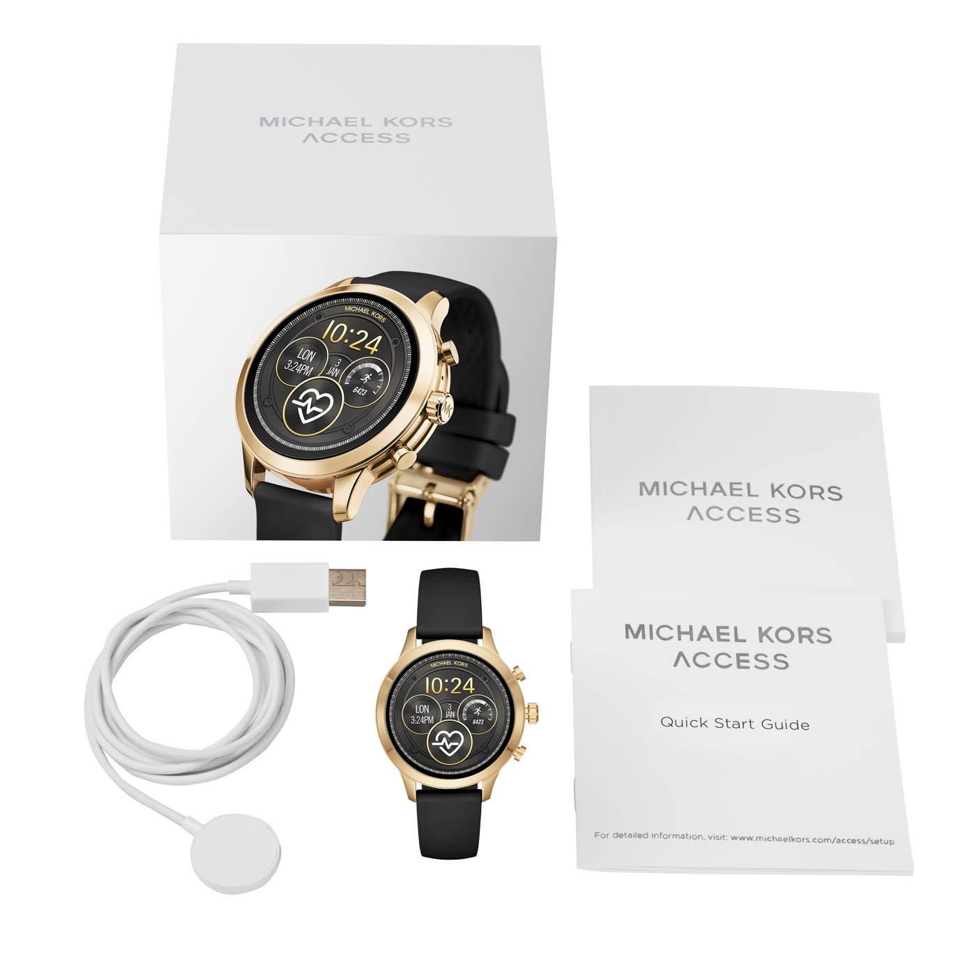 Zegarek damski Michael Kors access smartwatch MKT5053 - duże 3