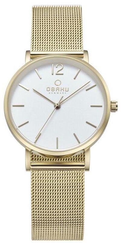 Zegarek damski Obaku Denmark slim V197LXGWMG1 - duże 1