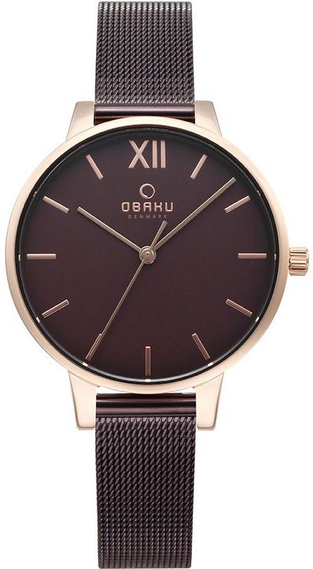 Zegarek damski Obaku Denmark slim V209LXVNMN - duże 1
