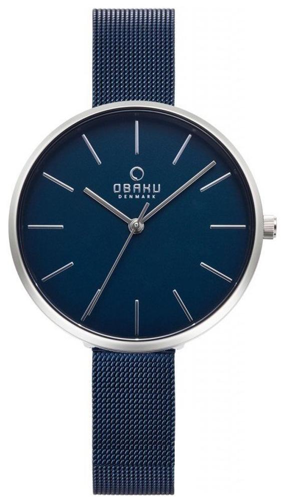 Zegarek damski Obaku Denmark slim V211LXCLML - duże 1