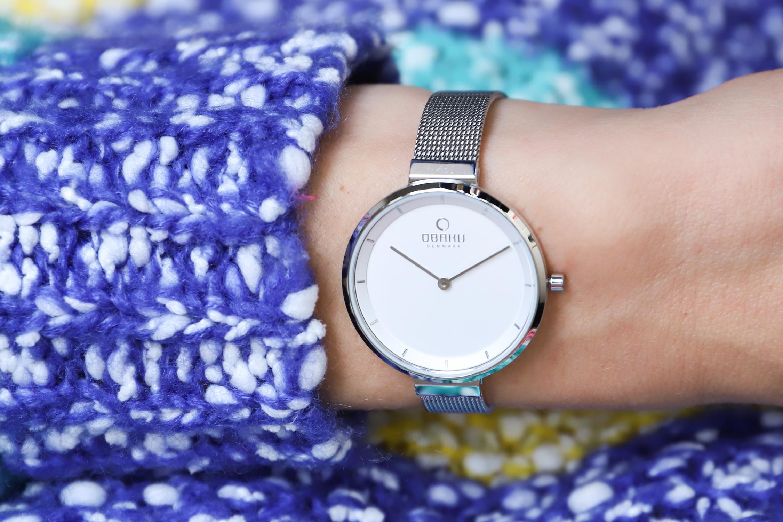 Zegarek damski Obaku Denmark slim V225LXCIMC - duże 1