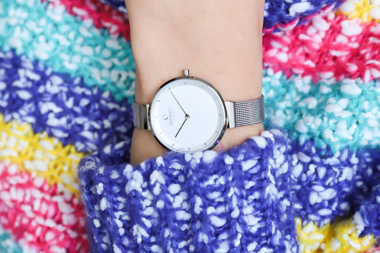 Zegarek damski Obaku Denmark slim V225LXCIMC - duże 3